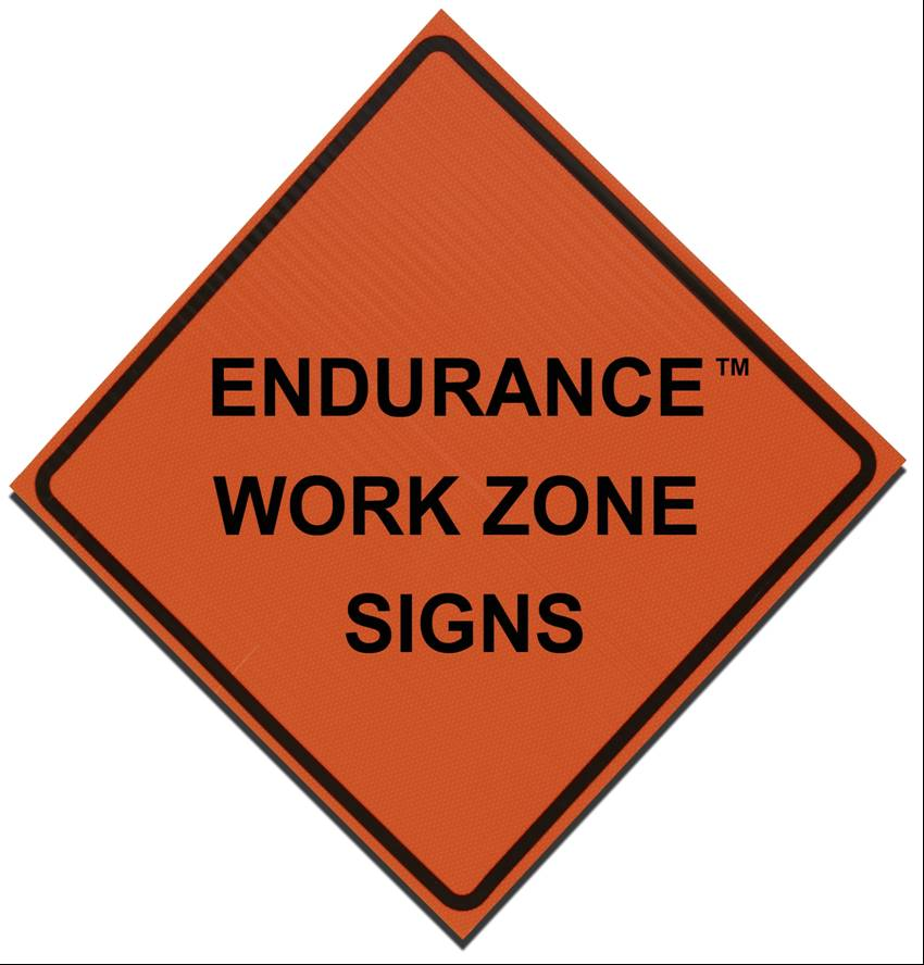 Endurance Work Zone Signs Alpine Products Inc